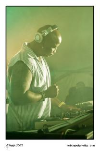 DJ Fresh from 5FM photographed by Marcus Maschwitz