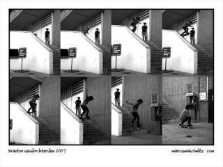 Braxton Haines interview in Session skateboarding magazine photographed by Marcus Maschwitz