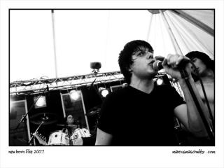 New Born fire playing on the Revolution stage at Woodstock 9 in Harrismith South Africa photographed by Marcus Maschwitz