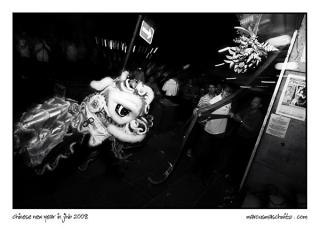 2008 Chinese New Year celebrations on Commissioner street in Johannesburg photographed by Marcus Maschwitz