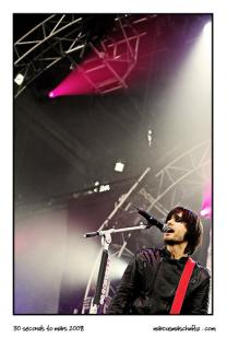 30 Seconds to Mars performing live in Johannesburg South Africa photographed by Marcus Maschwitz