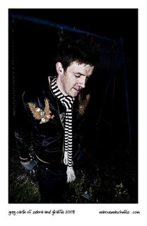 Greg Carlin is Zebra and Giraffe and these press shots are for the new album launch photographed by Marcus Maschwitz