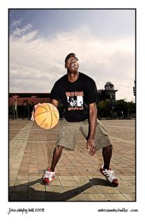 John was playing basketball in Newtown Johannesburg photographed by Marcus Maschwitz