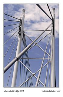 Nelson Mandela Bridge in Newtown Johannesburg photographed by Marcus Maschwitz