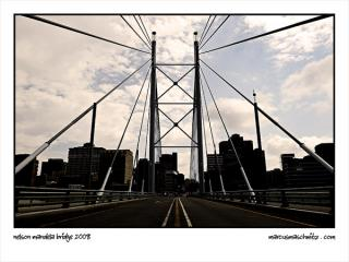 Nelson Mandela Bridge in Newtown Johannesburg photographed by Marcus Maschwitz