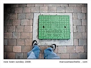 Walking around the streets in Newtown on a Sunday photographed by Marcus Maschwitz