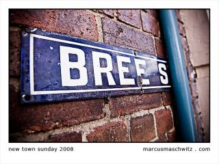 A sign on Bree Street in Newtown Johannesburg photographed by Marcus Maschwitz