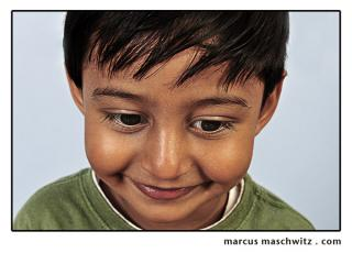 Child Portrait photographed by Marcus Maschwitz
