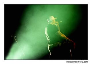 trevor from bloodline performing in johannesburg photographed by marcus maschwitz