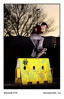 Dean Marais front bluntslide at skateworld in edenvale photographed by marcus maschwitz