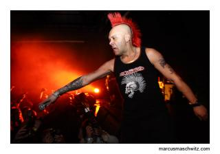 the exploited performing from the uk photographed by marcus maschwitz