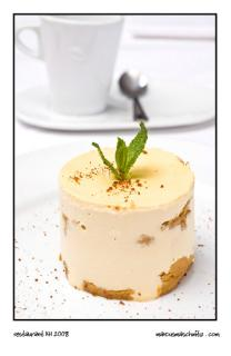 tiramisu dessert at restaurant 141 in greenside photographed by marcus maschwitz