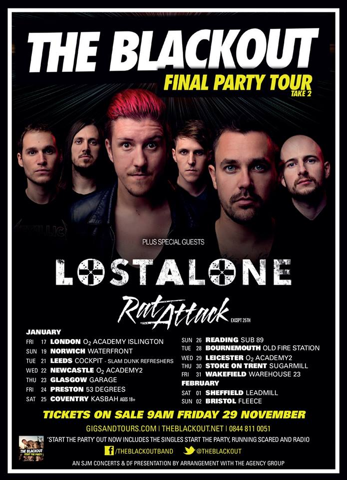 The Blackout Final Party Tour Take 2