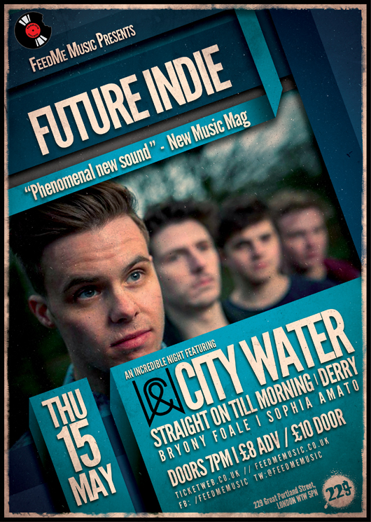City Water - Show Flyer - 229