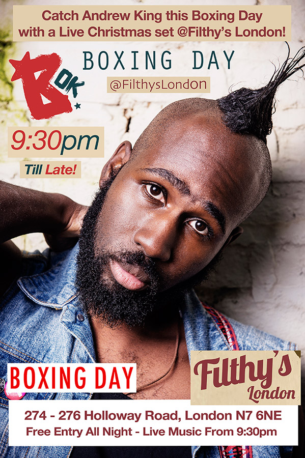 Band-Of-King---Boxing-day-poster