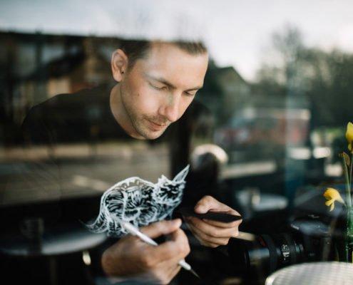 Portraits of Paperboyo / Rich McCor