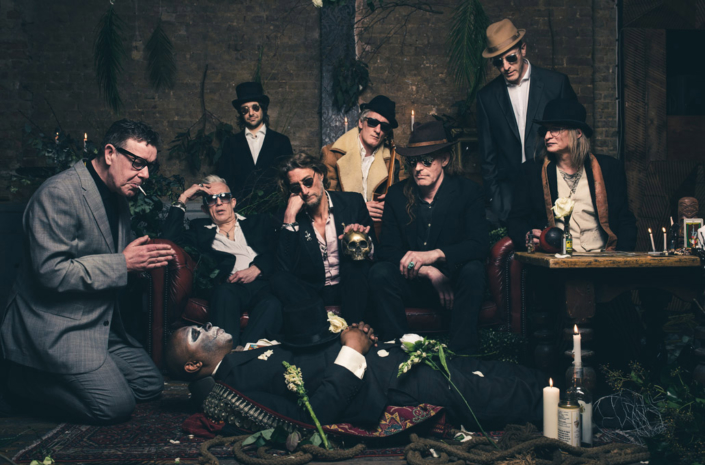 Alabama3 photographed for music press by Marcus Maschwitz