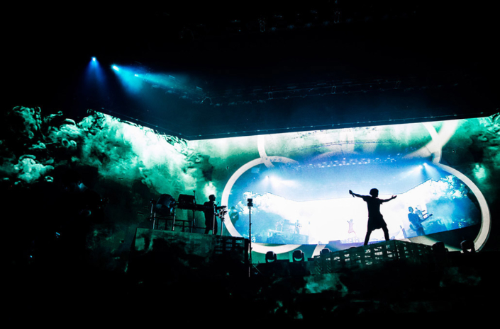 Bring Me The Horizon photographed live during their headline by Marcus Maschwitz
