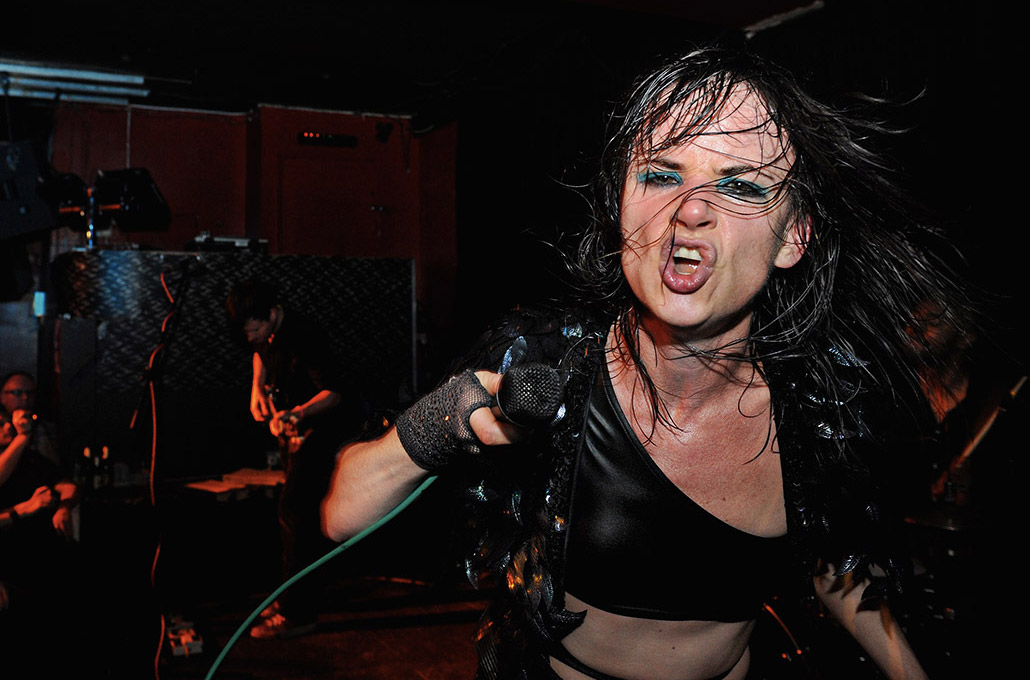 Juliette Lewis photographed live on stage by Marcus Maschwitz