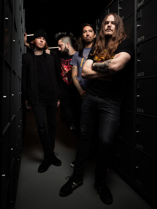 Of Mice and Men (OMAM) press photograph shot in Copenhagen by Marcus Maschwitz