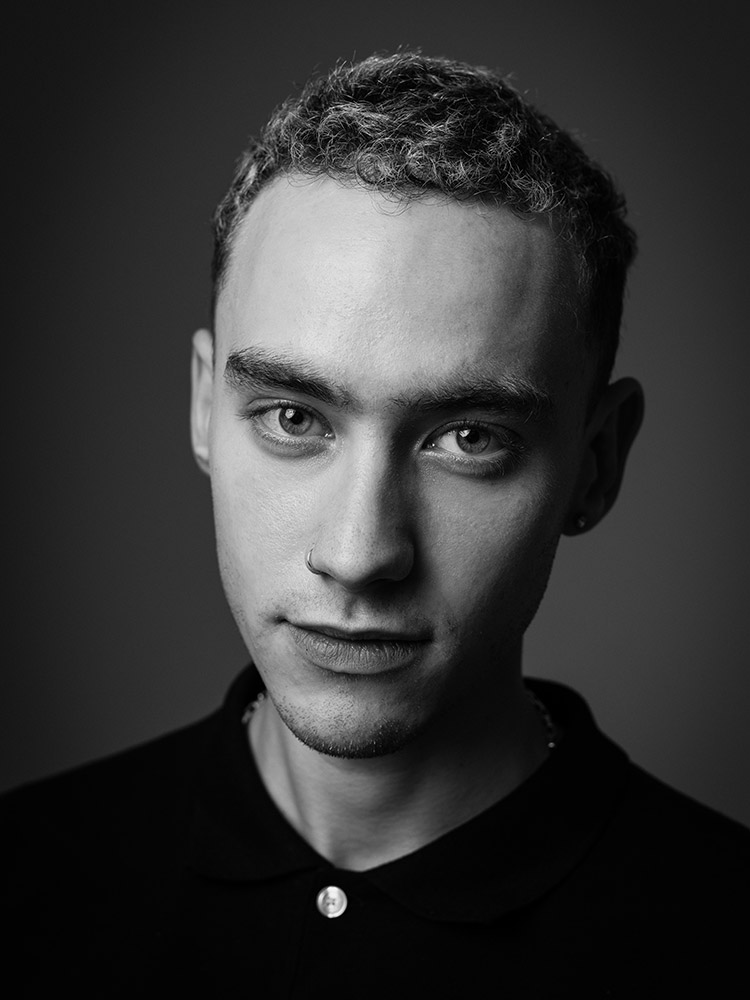 Olly Alexander of Years & Years photographed for a magazine interview by Marcus Maschwitz