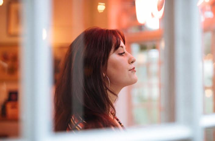 Annie Drury songwriter portrait photographed by Marcus Maschwitz
