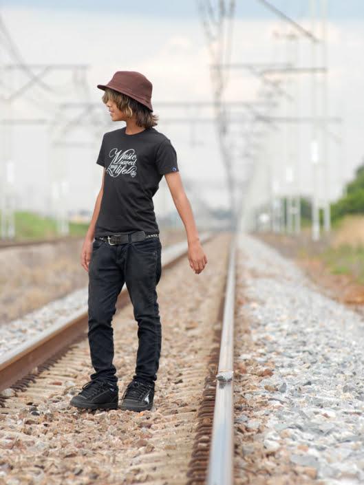 Braxton Haines skateboarder portrait photographed by Marcus Maschwitz