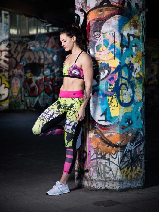 Claudia Myburg sports model portrait photographed by Marcus Maschwitz