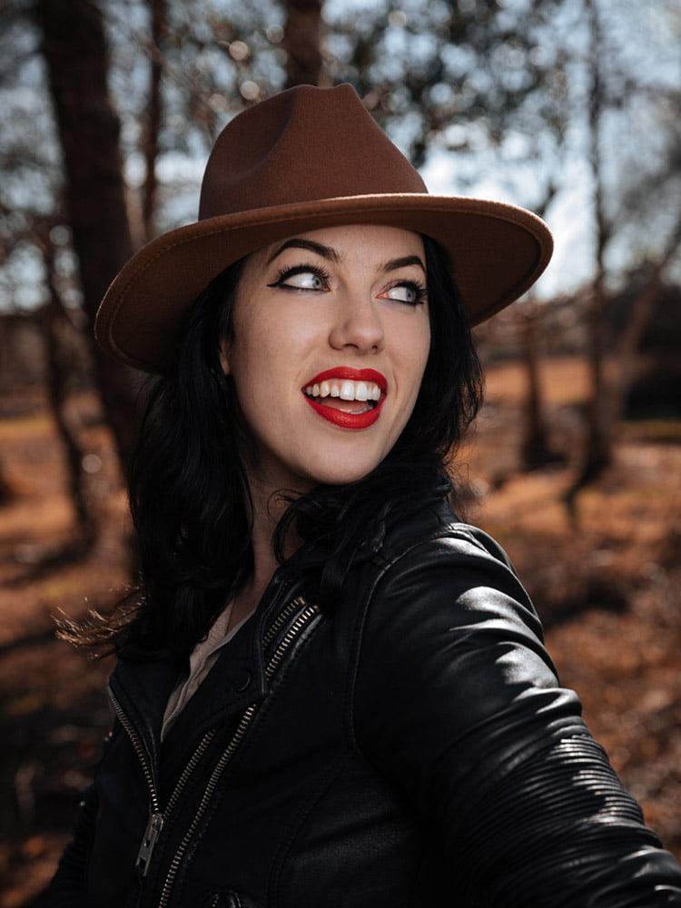 Fern Davis singer portrait photographed by Marcus Maschwitz