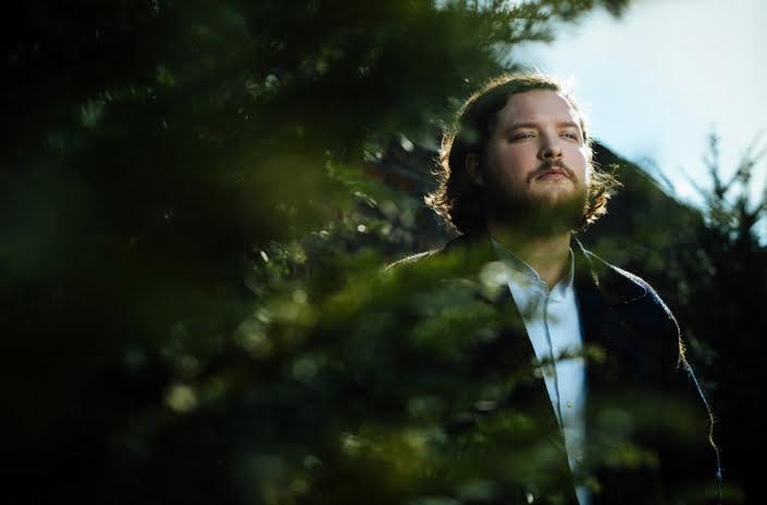 Gud Jon singer portrait photographed by Marcus Maschwitz