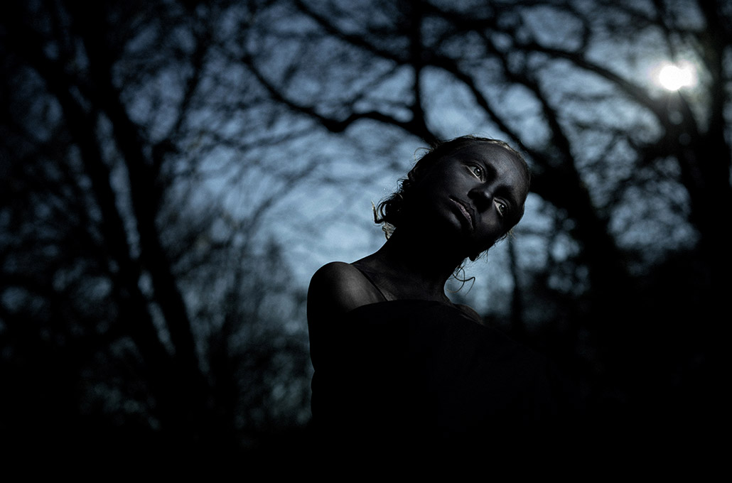 Hannah Elizabeth Kaney yoga teacher portrait photographed by Marcus Maschwitz