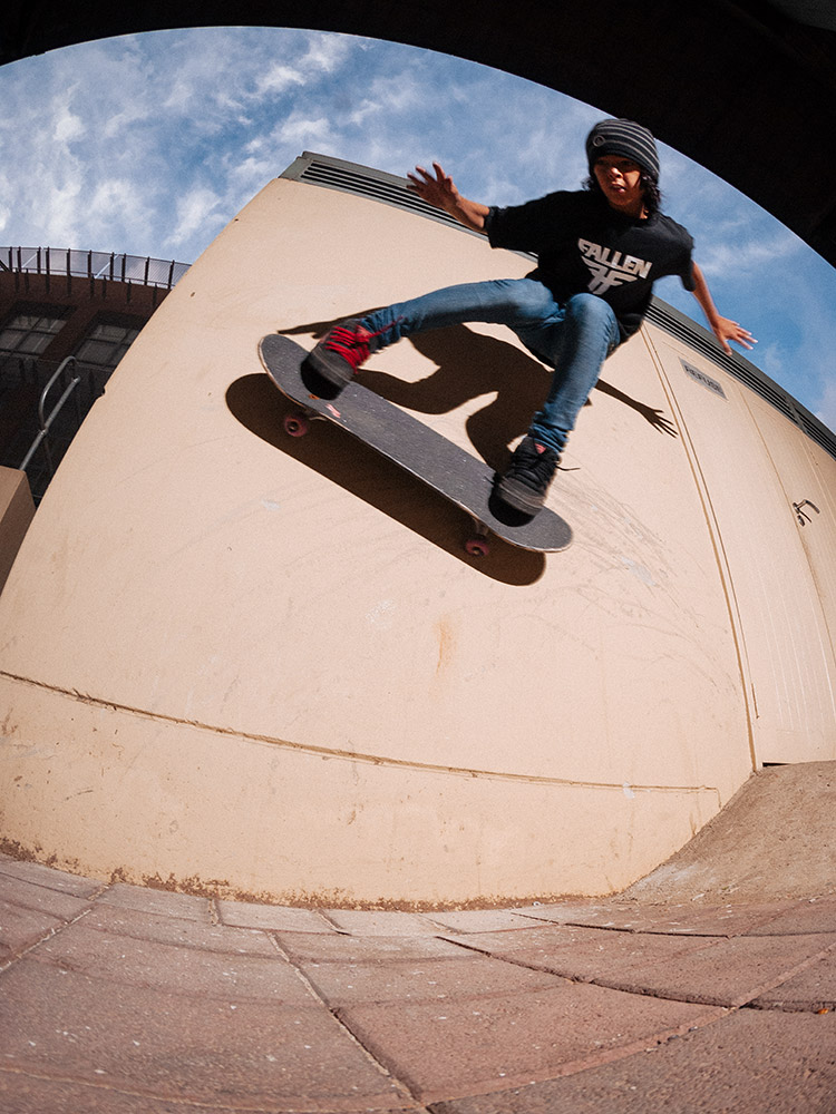 Braxton Haines wallrides in Johannesburg