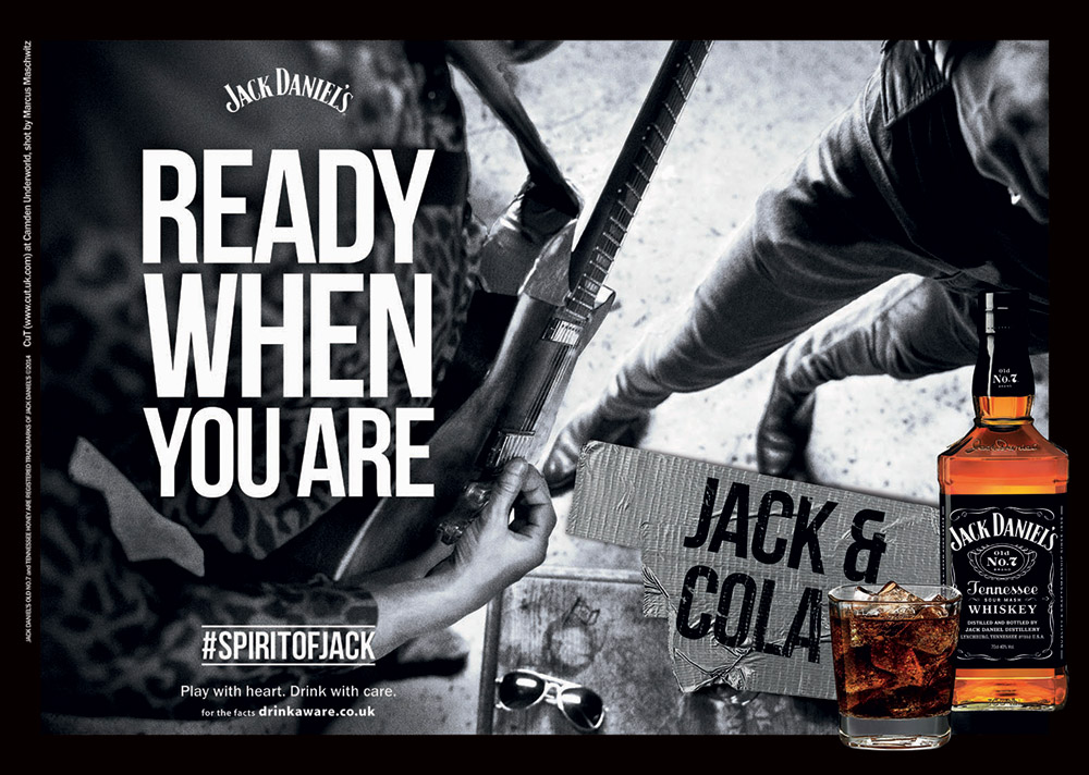 Ready When You Are by Jack Daniel's photographed by Marcus Maschwitz