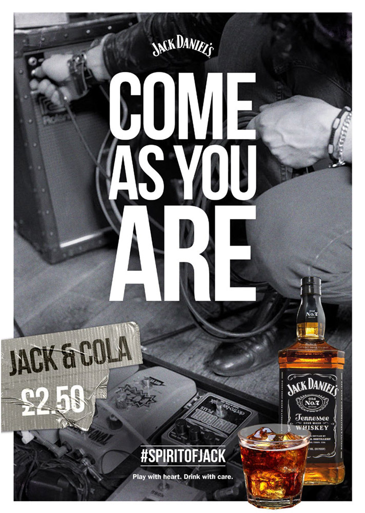 Come As You Are Jack by Jack Daniel's photographed by Marcus Maschwitz