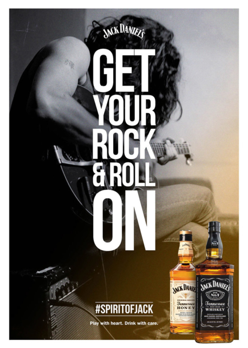 Get Your Rock & Roll On by Jack Daniel's photographed by Marcus Maschwitz
