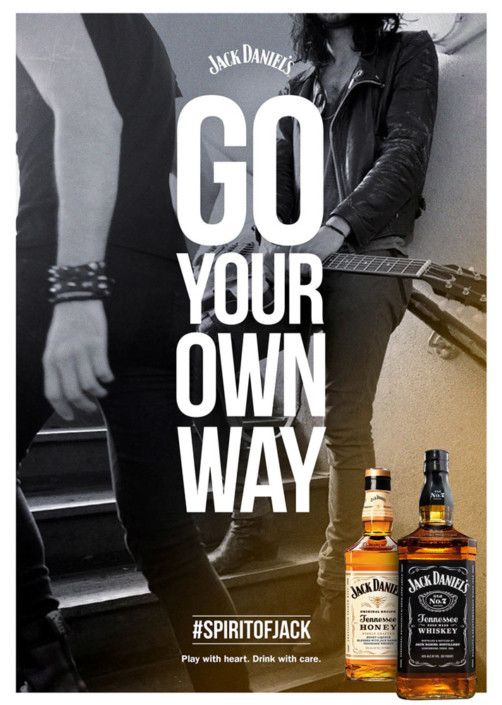 Go Your Own Way by Jack Daniel's photographed by Marcus Maschwitz