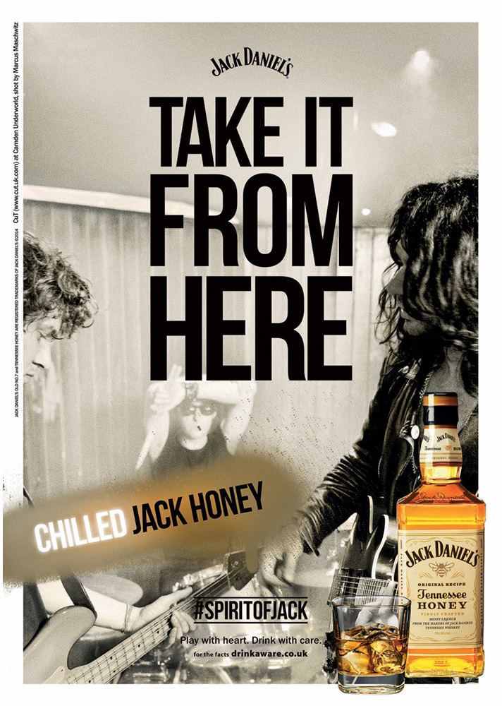 Take It From Here by Jack Daniel's photographed by Marcus Maschwitz
