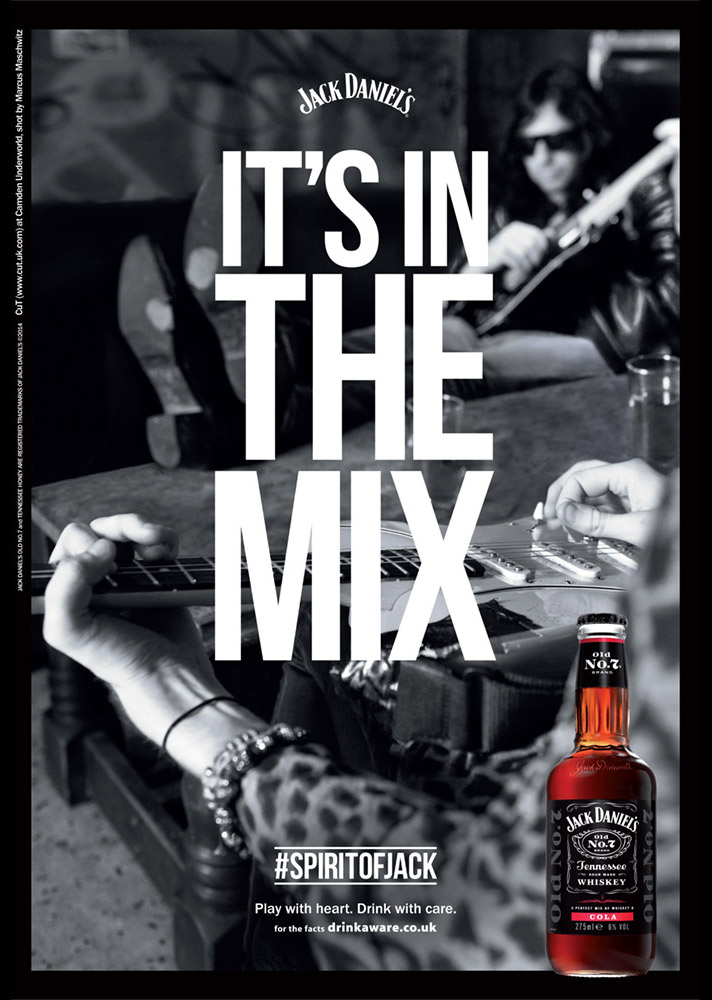 It's In The Mix by Jack Daniel's photographed by Marcus Maschwitz