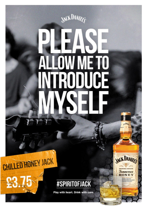 Please Allow Me To Introduce Myself by Jack Daniel's photographed by Marcus Maschwitz