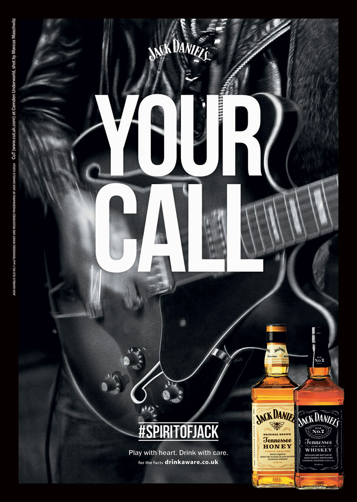 Your Call by Jack Daniel's photographed by Marcus Maschwitz