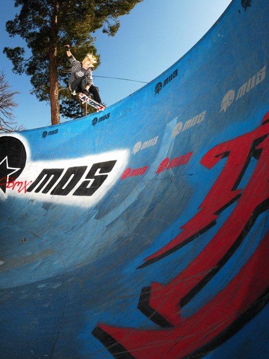 JP Du Preez crailslides a bowl in Germiston