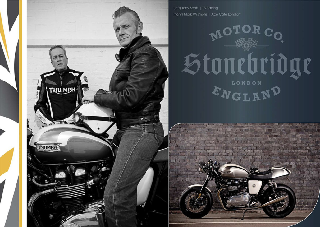 Ace Cafe Racer brochure photographed by Marcus Maschwitz