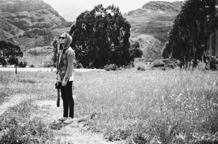 Adam Jenkins on tour in South Africa photographed by Marcus Maschwitz