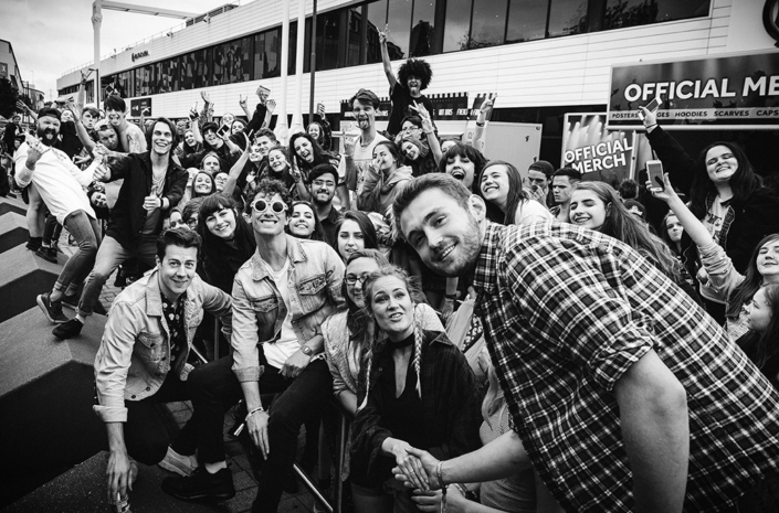 Don Broco signing photographed by Marcus Maschwitz