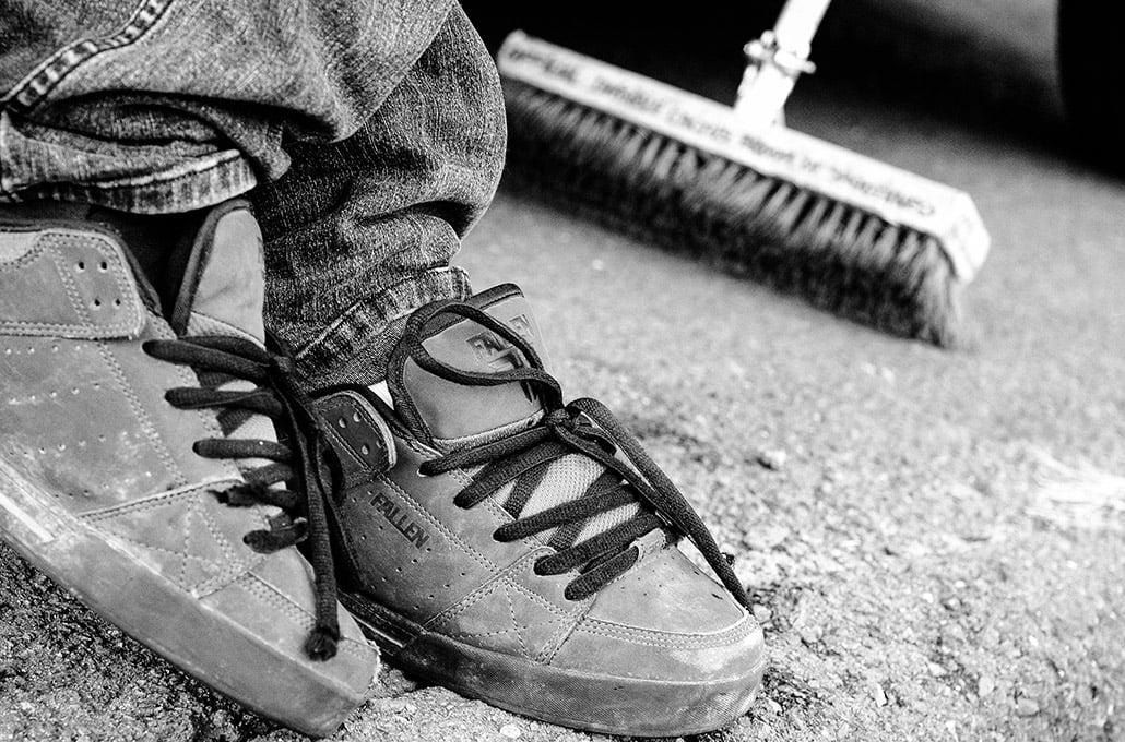 Fallen Footwear lookbook photographed by Marcus Maschwitz