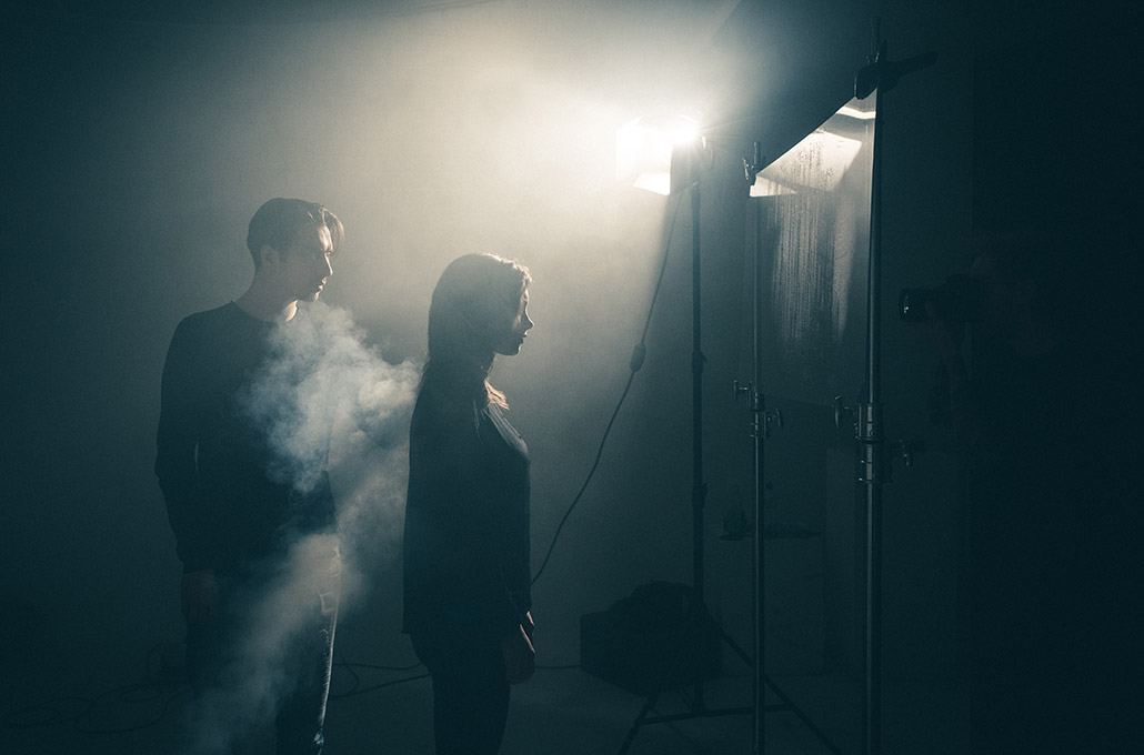 Gustav Wood and Alice Viner for Young Guns photographed by Marcus Maschwitz