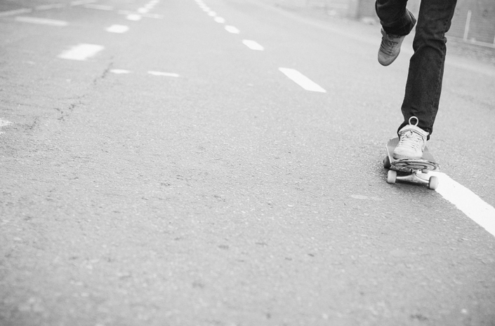 Skateboarding the streets photographed by Marcus Maschwitz