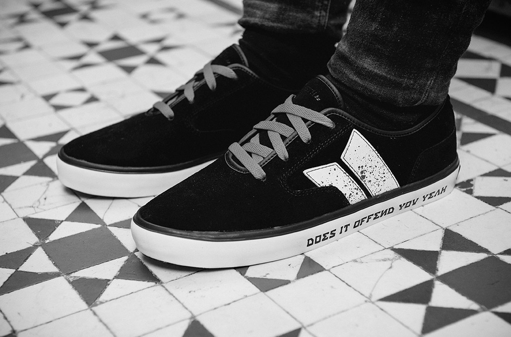 Does It Offend You Yeah Macbeth shoes photographed by Marcus Maschwitz