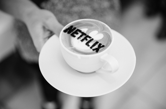 Netflix coffee photographed by Marcus Maschwitz