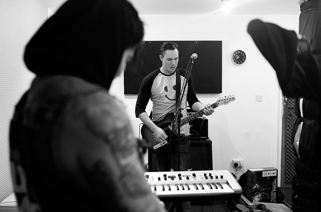 Tyron Layley in rehearsals photographed by Marcus Maschwitz